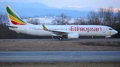 ET-AQP (Breitling Jet Team) Tags: etaqp ethiopian airlines euroairport bsl mlh basel flughafen
