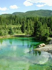 DSCN0447 (12fh) Tags: canada alberta nationalpark johnstoncanyon rockies banffnationalpark pool