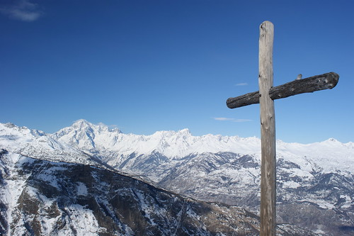 Mont Paillasse e Massiccio del Monte Bianco