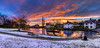 135/365v3 - Doctors Pond Snowy(ish) Sunrise (Mark Seton) Tags: panorama doctorspond photomatix kolorautopanopro sunrise essex pano hdr