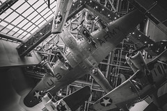 Flying Fortress (ty alexander photography) Tags: neworleans wwiimuseum worldwar2 wwii b17 flyingfortress warbird america army usa history bw blackandwhite teamcanon canon 5dmarkiii ef1740mmf4lusm