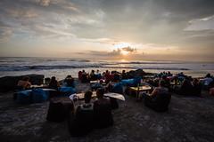 Surfers Watching Sunset in Canggu Bali (pictcorrect) Tags: bali sunset echo beach canggu surfers island