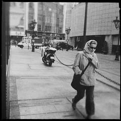 Woman (Gergely Hando) Tags: urbanphotography peopleonthestreets urbanliving urban blackandwhitestreetphotography blackandwhitephotography blackandwhite hipstography hipstamatic streetphotography street women woman