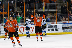 "Missouri Mavericks vs. Wichita Thunder, February 3, 2017, Silverstein Eye Centers Arena, Independence, Missouri.  Photo: John Howe / Howe Creative Photography • <a style=""font-size:0.8em;"" href=""http://www.flickr.com/photos/134016632@N02/32561325152/"" target=""_blank"">View on Flickr</a>"