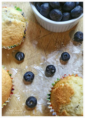 breakfast (Diane Trimble --- dianemariet) Tags: blueberrymuffins breakfast home comfortfood baking bakedgoods freshlybaked wholesome rlb blueberries muffins