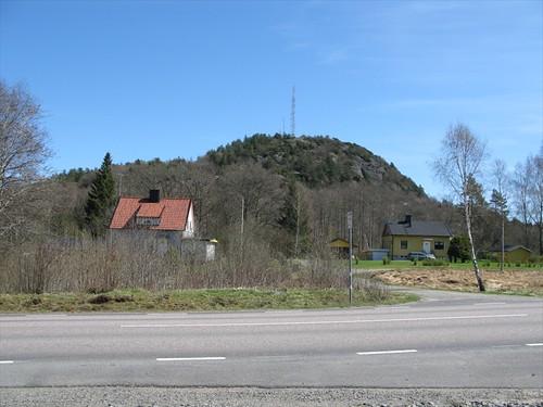 Aleklätten seen from Romelandavägen 2010