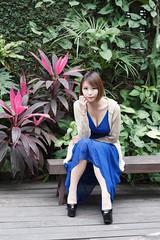 DSC_5818 (錢龍) Tags: 希維亞 小希 文創園區 外拍 beauty sexy nikon d700 girl 短髮