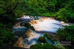 IMG_5234 (Ian McDonald Photography) Tags: water river scotland countryside waterfall long exposure scenic glen lynn dalry ayrshire