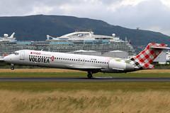 EI-EWI (GH@BHD) Tags: aircraft aviation boeing 717 airliner b717 voe bhd belfastcityairport volotea eiewi