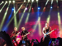 Poets of the fall in Bangalore (anindya55) Tags: concert bangalore iphone potf poetsofthefall mobilephotography iphone6
