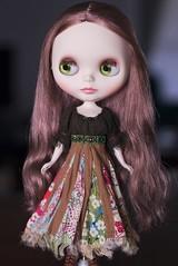 Dress 1: Patch skirt dress