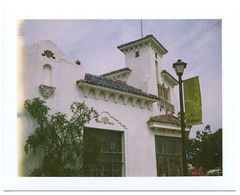 Paseo (UberJ) Tags: city building film oklahoma polaroid silk paseo pack automatic land okc expired oklahomacity 250 packfilm 125i
