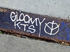 Gloomy KTS, San Francisco, CA (Robby Virus) Tags: sanfrancisco california metal graffiti gloomy tag sidewalk kts
