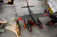 Aichi M6A1 Seiran (Clear Sky Storm) (raphaelbrescia) Tags: museum virginia smithsonian museu aviation hangar boeing hazy chantilly udvar