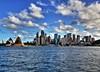 Sydney Circular Quay (die_to_live) Tags: city sea house water skyline architecture port canon landscape opera harbour outdoor sydney australia quay wharf cbd hdr circluar 60d