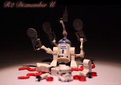 Scare Wars : No Hope . R 2 Dizmember U. (Legoagogo) Tags: halloween lego r2 d2 chichester legoagogo