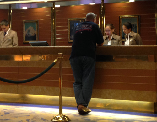 Front Office on the cruise ship