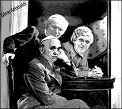 Marx Brothers (edoardo.baraldi) Tags: ratzinger bergoglio sinodo fratellimarx