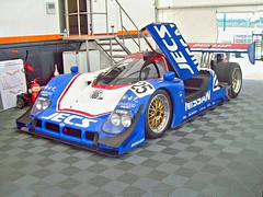 654 Nissan R90CK (1990) (robertknight16) Tags: japan racecar nissan lola racing silverstone 1990s wsc groupc r90ck