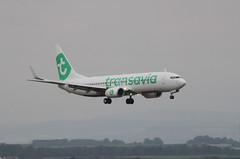 F-GZHE (aitch tee) Tags: aircraft boeing airliner transavia walesuk cardiffairport b737800 fgzhe maesawyrcaerdydd cwlegff