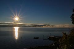 Morning fog (ankarals) Tags: morning sea nature norway fog landscape boat vollen allwhatsbeautiful