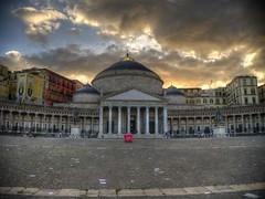 Basilica of San Francesco di Paola (CeBepuH) Tags: italy geotagged campania ita napoli naples hdr vomero neapol sanfrancescodipaola basilicadisanfrancescodipaola  geo:lat=4083580613 geo:lon=1424890817