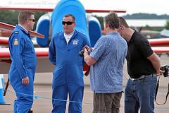 5587 Chris Docherty (photozone72) Tags: canon aviation blues reds redarrows raf rafat groundshots circusatwork