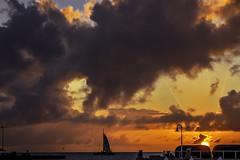 DSC_0458-EditFAA (john.cote58) Tags: ocean lighting sunset vacation color water clouds sunrise keys landscape bay pier intense florida dusk romantic keywest