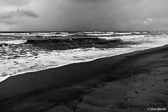 sea it is (blacqbook) Tags: ocean sea sky blackandwhite seascape beach nature wet water beauty clouds dark outdoors sand waves gloomy tide horizon shoreline overcast trinidad coastline caribbean raining deserted seafoam roughseas harshweather