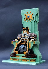 Thrór, King Under the Mountain (Pate-keetongu) Tags: lego dwarf hobbit dwarves moc erebor