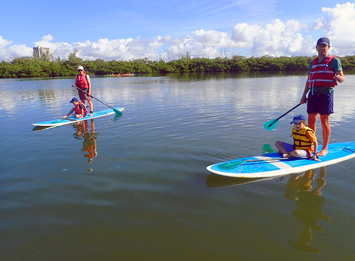 Can't ask for better weather for paddling!