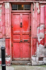 Red Door (gary8345) Tags: london shoreditch eastlondon 2015 snapseed
