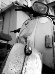 Missile (melvlim85) Tags: classic abandoned junk mod vespa style scooter retro kuala utm kl lumpur