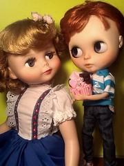 Blythe-a-Day November#25 National Parfait Day & #30 Space: Peanut Still Has a Crush on Betsy...