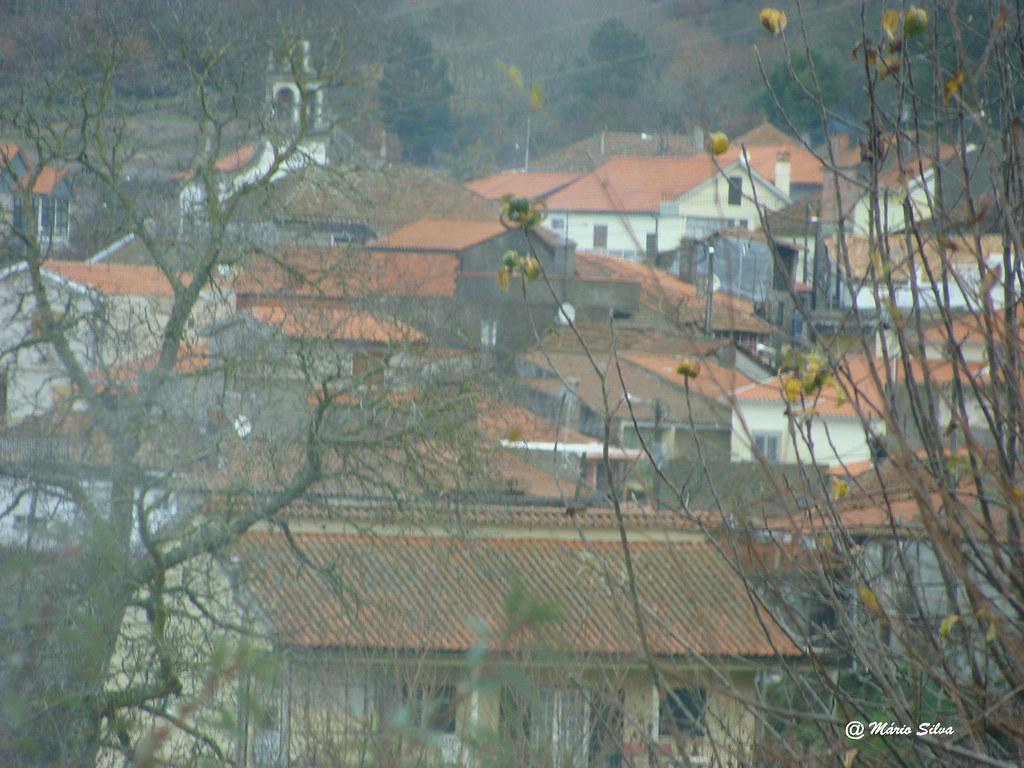 Águas Frias (Chaves) - ... a Aldeia por entre as árvores despidas ... - dez 12