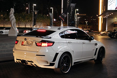 BMW X6 with Hamann kit (R_Simmerman Photography) Tags: winter white cars mall cool dubai with united parking rich emirates arab bmw kit supercars valet combo hamann x6 sportcars 2013 dubaicars hypercars carsofdubai