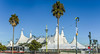 the traveling show on lot a (pbo31) Tags: show sanfrancisco california november blue horses urban panorama white color fall palms big nikon large lot tram panoramic tent muni transit stitched 3rdstreet missionbay cavalia 2015 boury pbo31 d810 odysseo