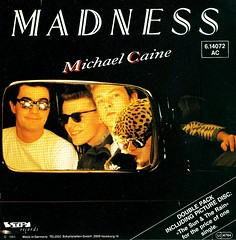 15 - Madness - Michael Caine - + Pic Disc - Double Single - D - 1983 (Affendaddy) Tags: madness klaus picturedisc michaelcaine fireballxl5 hiltscher vinylsingles ifyouthinktheressomething skacollection doublesingle telefunkendeccastiff thesuntherain 196buy 192614072614073germany1983uk recordsbuy