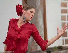 Ritratto della Ballerina di Flamenco. Flamenco's dancer portrait. (omar.flumignan) Tags: street portrait canon dance ballerina strada artist market danza lanzarote dancer unesco 7d mercato ritratto flamenco spagna artista canarie tigua ef24105f4isusm