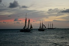 Key West Sunset (Marianna Gabrielyan) Tags: ocean sunset clouds sailboat canon boat florida sail keywest d400 xti canon1855mmf3556