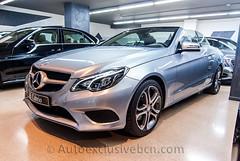Mercedes-Benz E 220 CDI Cabrio Sport Paquet - 170 c.v - Plata Diamante - Piel Negra - 3