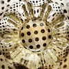 Ikea glass (VillaRhapsody) Tags: glass kitchen steel dots circles challengeyouwinner cy2