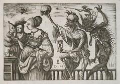 Memento Mori Death and the Devil Surprising Two Women (STORMZORN) Tags: maiden madchen
