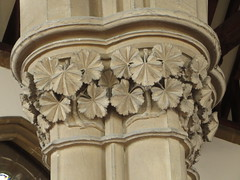 Ryde - All Saints (Dubris) Tags: england building church architecture leaf capital gothic victorian carving vectis isleofwight allsaints ryde georgegilbertscott