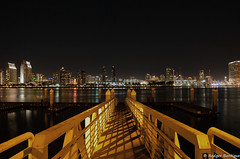 View from the dock (RB@photography) Tags: sandiego coronado water dock boats longexposure skyline ferrylanding
