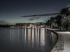 Kingston Foreshore - Morning Blue Hour - Barton - ACT - Australia - 20161221 @ 04:40 (MomentsForZen) Tags: kingstonforeshore startrails starsscorpius lights apartments buildings path blue bluehour sky starburst reflections lakeburleygriffin lake longexposure night lightroom cfv50c 501cm hasselblad mfz momentsforzen barton australiancapitalterritory australia au