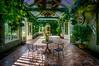 inviting (kderricotte) Tags: dumbartonoaks orangery washingtondc greenhouse patio chairs plants sunlight vines sonya6000 1018mm
