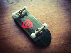 Flatface G14 fingerboard (Brick Operator) Tags: fingerboard wood wheels trucks deck flatface g14 skateboard