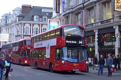 BV66VHU London General WHV117 (neiljennings51) Tags: tfl wright volvo london general go ahead service 14 bus psv pcv