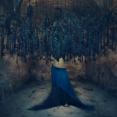 the thoughts that trap us (brookeshaden) Tags: magicalsurrealism keys surrealism brookeshaden fineartphotography
